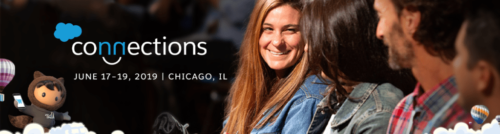 Saleforce Connections 2019 official banner